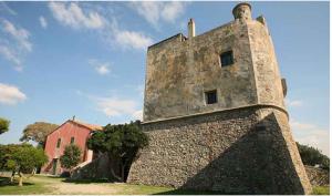 The Torre della Tagliata, better known as Torre Puccini in Ansedonia