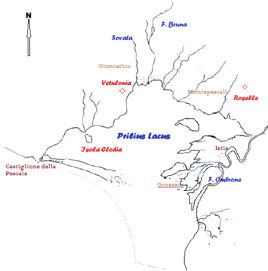 lago prile età etrusca