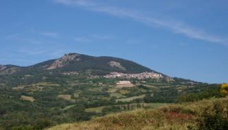 Castell'Azzara, the last east border of Maremma Tuscany