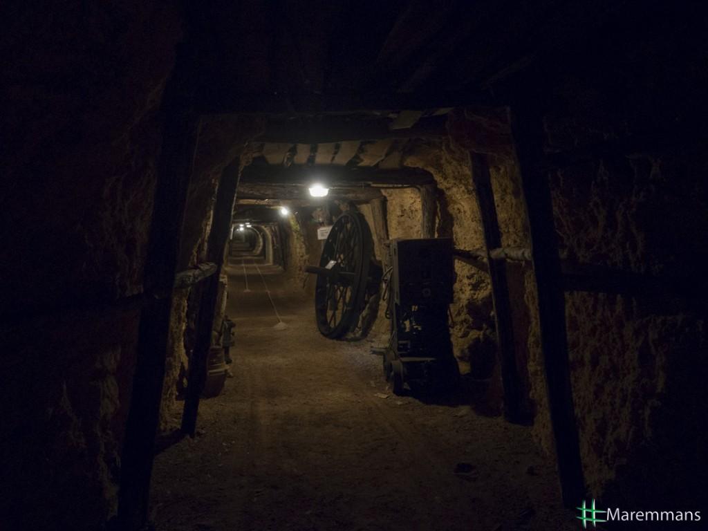 museo della miniera interno