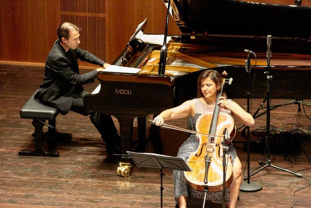 Maurizio Baglini e Sivia Chiesa – Credits Amiata Piano Festival